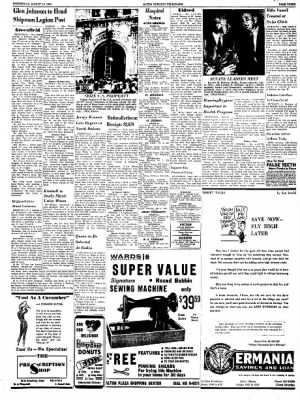 Alton Evening Telegraph from Alton, Illinois on August 10, 1960 · Page 3