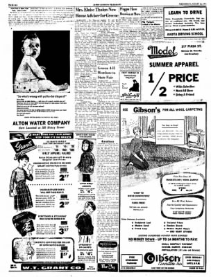 Alton Evening Telegraph from Alton, Illinois on August 10, 1960 · Page 6