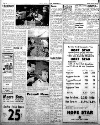 Hope Star from Hope, Arkansas on September 22, 1958 · Page 4