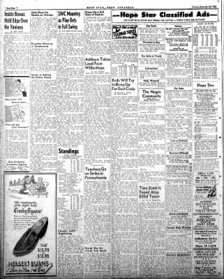 Hope Star from Hope, Arkansas on September 23, 1958 · Page 4
