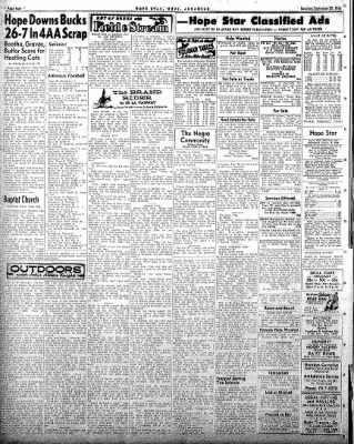 Hope Star from Hope, Arkansas on September 27, 1958 · Page 4