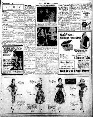 Hope Star from Hope, Arkansas on October 1, 1958 · Page 3