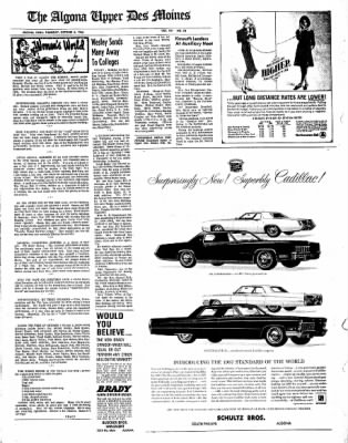 The Algona Upper Des Moines from Algona, Iowa on October 6, 1966 · Page 11