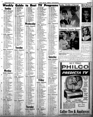 Hope Star from Hope, Arkansas on October 4, 1958 · Page 3