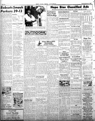 Hope Star from Hope, Arkansas on October 4, 1958 · Page 4