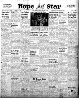 Hope Star from Hope, Arkansas on October 7, 1958 · Page 1