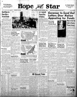 Hope Star from Hope, Arkansas on October 8, 1958 · Page 1