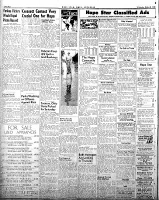 Hope Star from Hope, Arkansas on October 8, 1958 · Page 4