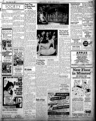 Hope Star from Hope, Arkansas on October 10, 1958 · Page 3