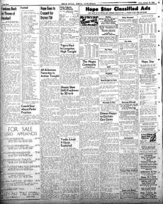 Hope Star from Hope, Arkansas on October 10, 1958 · Page 4