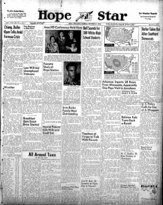 Hope Star from Hope, Arkansas on October 21, 1958 · Page 1