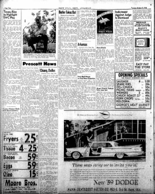 Hope Star from Hope, Arkansas on October 21, 1958 · Page 2