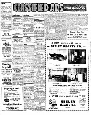 Kossuth County Advance from Algona, Iowa on March 29, 1965 · Page 7