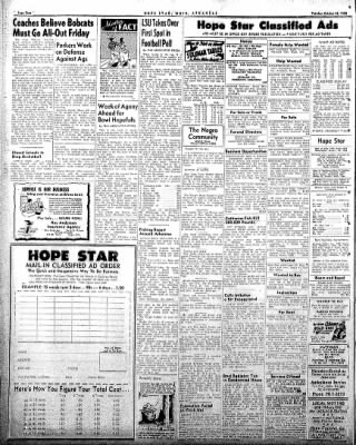Hope Star from Hope, Arkansas on October 28, 1958 · Page 4