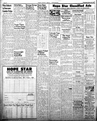 Hope Star from Hope, Arkansas on October 29, 1958 · Page 6