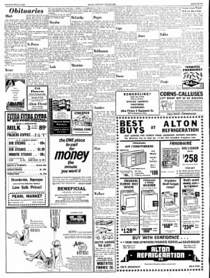 Alton Evening Telegraph from Alton, Illinois on June 3, 1963 · Page 7