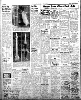 Hope Star from Hope, Arkansas on November 10, 1958 · Page 4