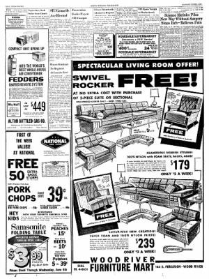 Alton Evening Telegraph from Alton, Illinois on June 3, 1963 · Page 22