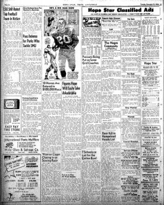 Hope Star from Hope, Arkansas on November 11, 1958 · Page 6