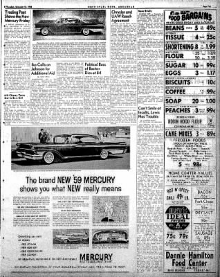 Hope Star from Hope, Arkansas on November 13, 1958 · Page 5