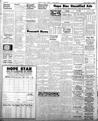 Hope Star from Hope, Arkansas on November 15, 1958 · Page 4