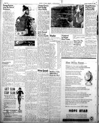 Hope Star from Hope, Arkansas on November 17, 1958 · Page 2