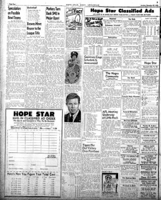 Hope Star from Hope, Arkansas on November 17, 1958 · Page 4