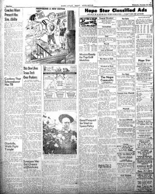 Hope Star from Hope, Arkansas on November 19, 1958 · Page 4