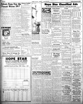 Hope Star from Hope, Arkansas on November 22, 1958 · Page 4