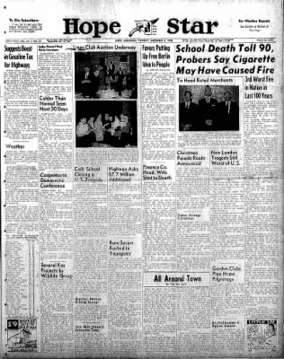 Hope Star from Hope, Arkansas on December 2, 1958 · Page 1
