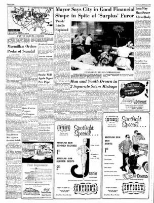 Alton Evening Telegraph from Alton, Illinois on June 10, 1963 · Page 2