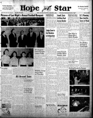 Hope Star from Hope, Arkansas on December 3, 1958 · Page 1