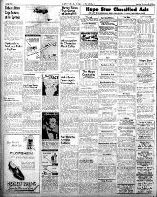 Hope Star from Hope, Arkansas on December 8, 1958 · Page 4