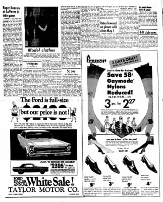 Kossuth County Advance from Algona, Iowa on April 1, 1965 · Page 9