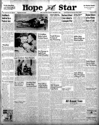 Hope Star from Hope, Arkansas on December 9, 1958 · Page 1