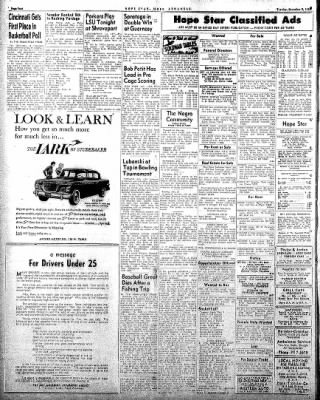 Hope Star from Hope, Arkansas on December 9, 1958 · Page 4