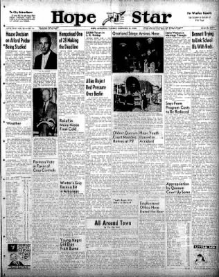 Hope Star from Hope, Arkansas on December 16, 1958 · Page 1