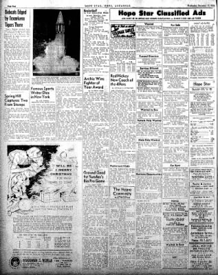 Hope Star from Hope, Arkansas on December 17, 1958 · Page 4