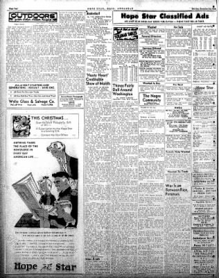 Hope Star from Hope, Arkansas on December 20, 1958 · Page 4