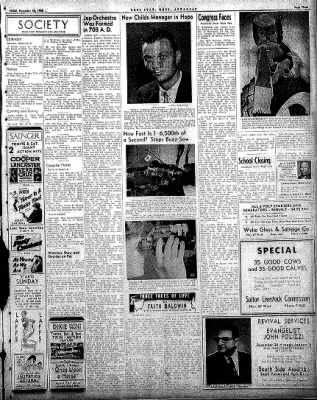 Hope Star from Hope, Arkansas on December 26, 1958 · Page 3