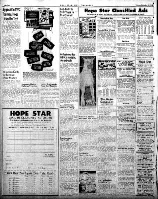 Hope Star from Hope, Arkansas on December 30, 1958 · Page 4