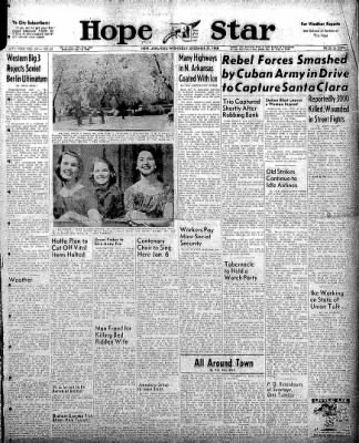 Hope Star from Hope, Arkansas on December 31, 1958 · Page 1