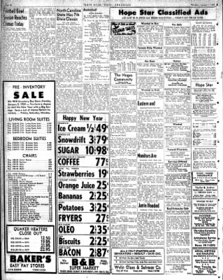 Hope Star from Hope, Arkansas on January 1, 1959 · Page 6