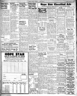 Hope Star from Hope, Arkansas on January 5, 1959 · Page 4