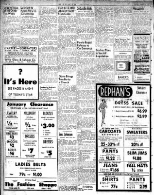 Hope Star from Hope, Arkansas on January 8, 1959 · Page 2