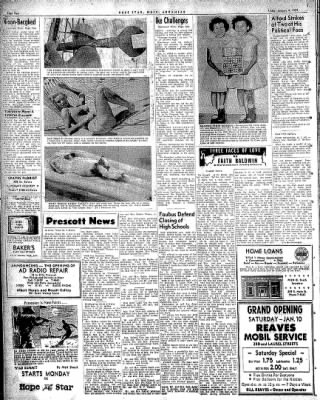 Hope Star from Hope, Arkansas on January 9, 1959 · Page 2