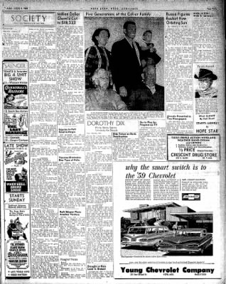 Hope Star from Hope, Arkansas on January 9, 1959 · Page 3