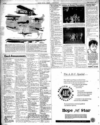 Hope Star from Hope, Arkansas on January 9, 1959 · Page 6