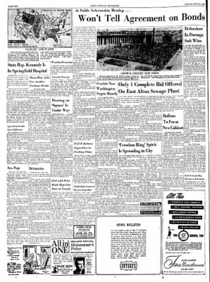 Alton Evening Telegraph from Alton, Illinois on June 21, 1963 · Page 2