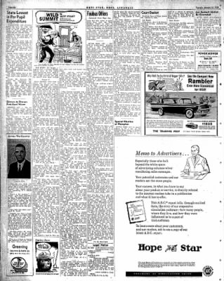 Hope Star from Hope, Arkansas on January 13, 1959 · Page 6